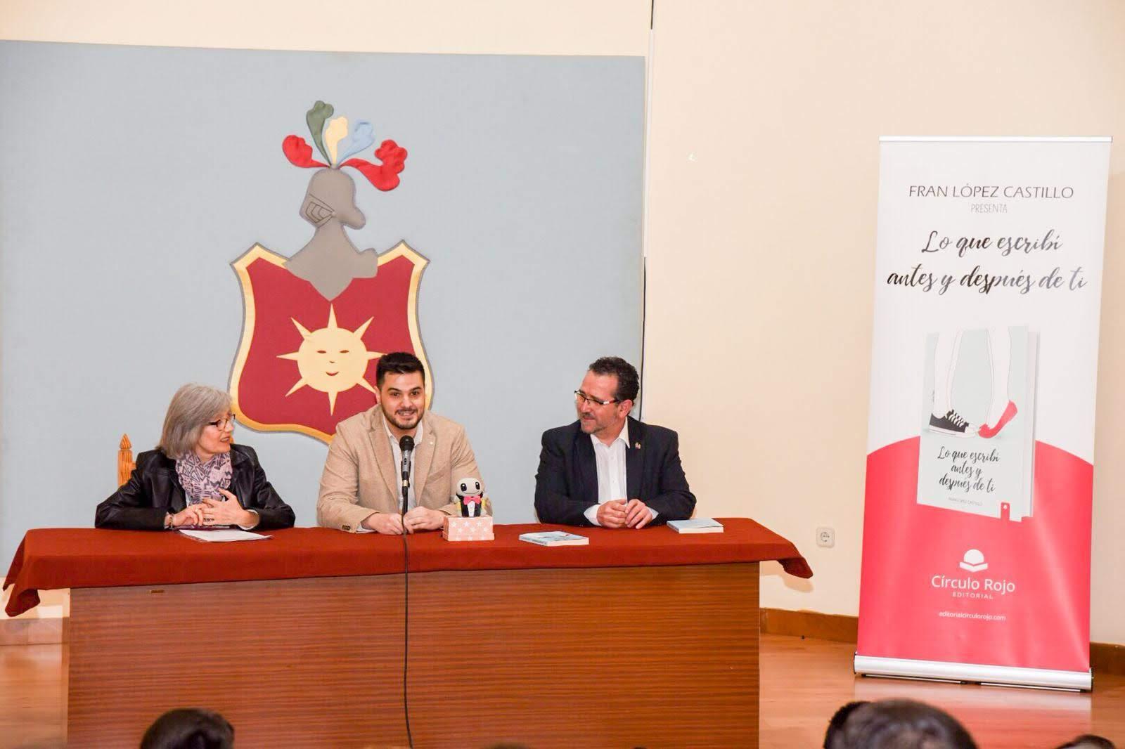Fran López Castillo presentación en La Solana