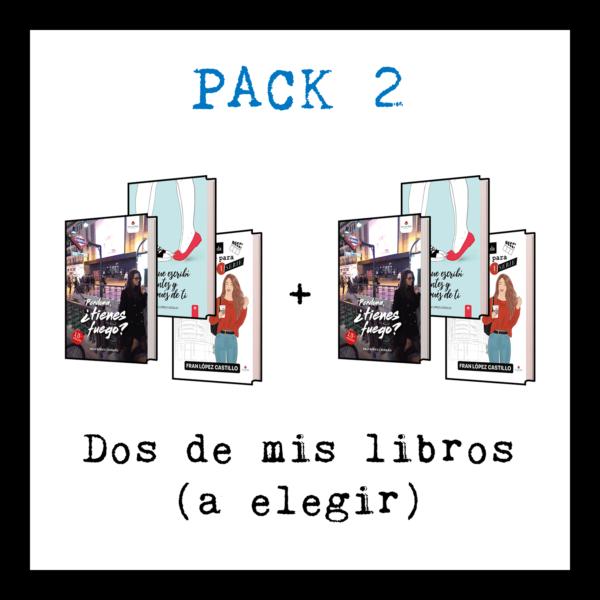 Dos libros - Perdona tienes fuego + lo que escribi antes y después de ti + mi vida da para una serie - Franlopezcastillo.com