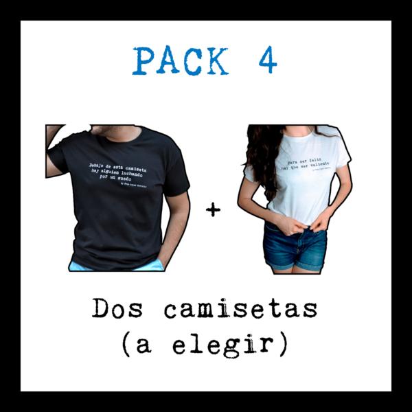 Pack dos camisetas - Franlopezcastillo.com
